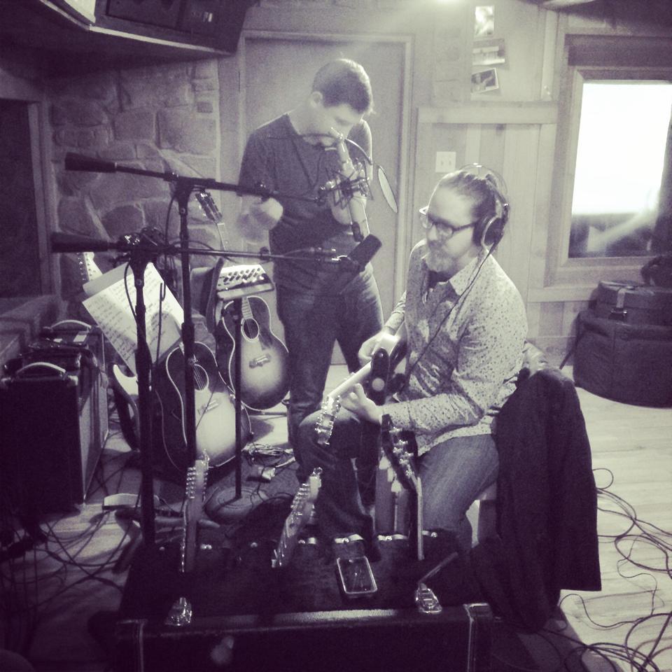 Garrett and Cedar Creek studio Engineer John Silva